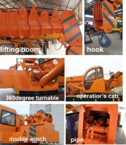 Made in China Crane with Lifting Table Sell in Canada pictures & photos