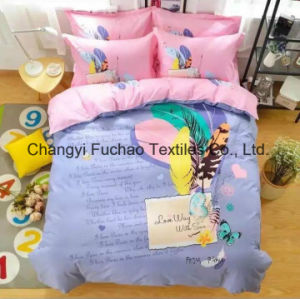 New Elegant Bedding Set Twin Size 4PC Duvet Cover Set Microfiber Super Soft Life pictures & photos