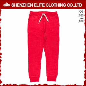 Casual Clothing Hot Selling Sweatpants Jogger Pants Red (ELTJI-25) pictures & photos