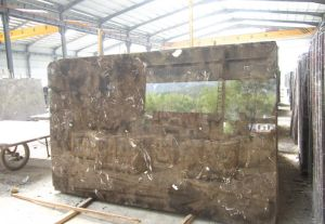 China Building Material Natural Stone Cut to Size Dark Emperador Marble Wall Tile for Bathroom/Floor/Countertop pictures & photos