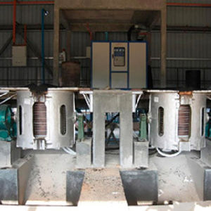 Kgps Type Medium Frequency Induction Melting Furnace pictures & photos