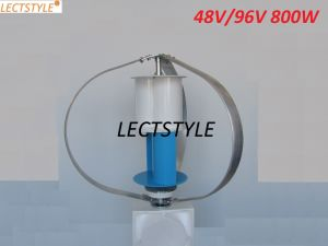 "AC 48V96V 800W ""Q""Type Vertical Wind Turbine Price China pictures & photos"