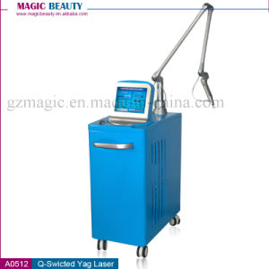 Professional Q Switched ND YAG Laser Tattoo Removal Machine pictures & photos
