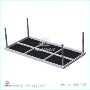 LED Glass Cat Walk Stage Rotating Stage pictures & photos