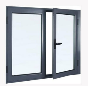 High End Thermal Break Aluminum Windows Integrated Screen pictures & photos