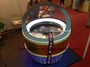 Fhc Shanghai Fair Ice Cream Showcase/Ice Cream Freezer Display Case pictures & photos