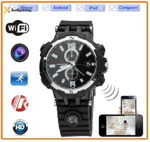720p HD WiFi Watch Remote Monitor Camera Watch