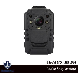 Police Body Camera in Full HD 1296p 30fps IR Night Vision 2inch LCD Body Cam 32GB with Built-in GPS H30 pictures & photos