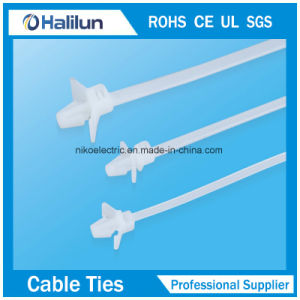 Plastic Cable Ties Mountable Head Ties for Bundling pictures & photos