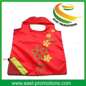 Cheap Customized Logo Printed Folding Nylon Tote Bag pictures & photos