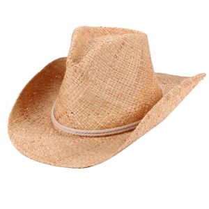 Raffia Straw Cowboy Hat pictures & photos