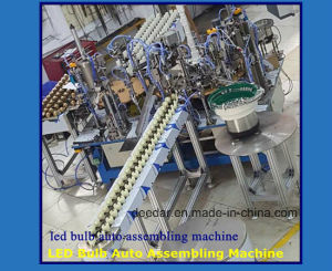 LED Bulb Auto Assembling Machine pictures & photos