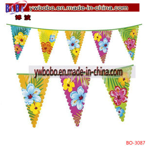 Advertising Banner Printing Flag Garland Pennant Flag Holiday Gifts (BO-3087) pictures & photos