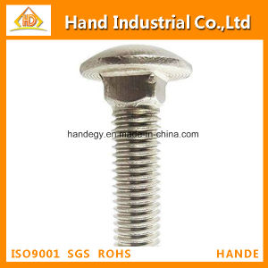 Stainless Steel Top Quality A2-70 Inch Size Carriage Screw pictures & photos