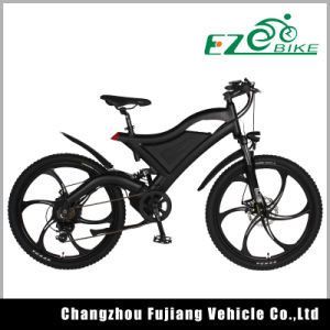 Mountain Electric Bike with MID-Drive 500W Tde05 pictures & photos