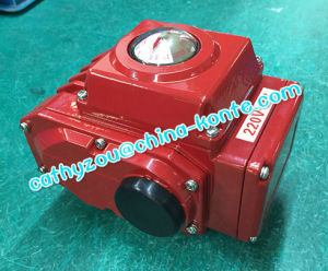 Quarter Turn Electric Actuator on-off Type 220V AC pictures & photos