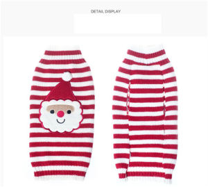 2016 Cartoon Santa Claus Red Knitting Christmas Pet Sweaters pictures & photos