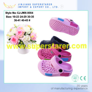Lovely Cartoon Kids EVA Beach Garden Clog pictures & photos