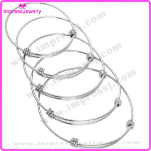 1.5mm Wire Expandable Wire Bangle Bracelet for Men Women pictures & photos