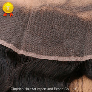 """10""""-20"""" Body Wave Natural Color Virgin Hair Frontal Closure pictures & photos"""