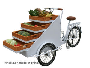 Cargo Bike with Basket Retro Tricycle for Sale pictures & photos