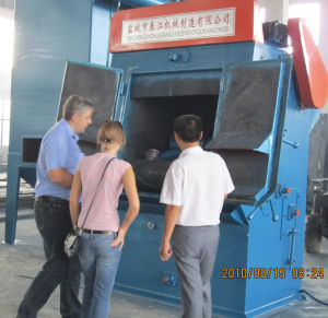 Tumblast Rubber Shot Blast Cleaning Machine (Q326C DIA. 650mm) pictures & photos