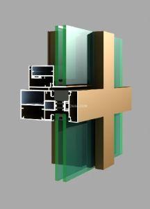 6061 Aluminum/Aluminium Extrusion Profile for Curtain Wall pictures & photos