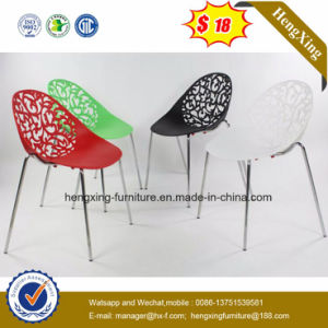Cheap PP Plastic Chair Replica Chair with Solid Wood Legs Modern Plastic Dining Chair (hx-5CH141) pictures & photos