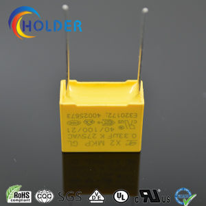 0.33UF 275V Box MKP Safety Capacitor Metallized Polypropylene Film pictures & photos