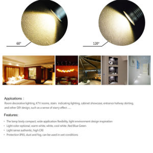 1W 12V 25mm LED Spotlight IP65 Outdoor LED Light pictures & photos