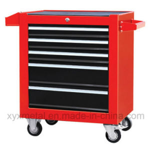 5 Drawers Roll Tools Truck Cart Tool Cabinet pictures & photos