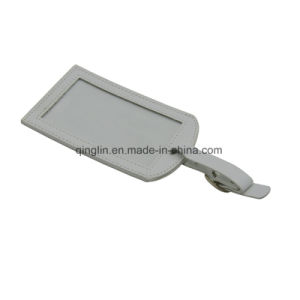 Elegant Design Colorful Leather Luggage Tag pictures & photos
