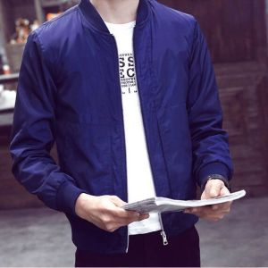 Autum New Style Men′ S Casual Slim Jacket pictures & photos