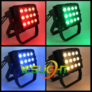 200W COB Outdoor LED Floodlight 12PCS*15W RGB with Ce, RoHS pictures & photos