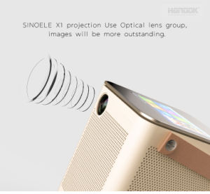 Android 4.4.2 Portable WiFi Bluetooth Smart LED Video Projector pictures & photos