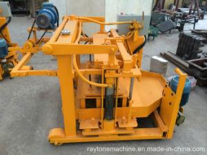 Qt40-3A Movable Concrete Egg Layer Block Machine Hollow Brick Making Machine pictures & photos