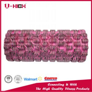 14*33cm EVA Foam Roller Fitness Equipment Water Print Injection pictures & photos