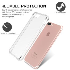 Crystal Clear Shock Absorption Technology Bumper Soft TPU Cover Case for iPhone 7 Plus 5.5-Inch pictures & photos