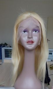 Full Lace Wig 100% Human Hair Chinese Virgin Hair Wig pictures & photos