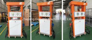 Zcheng Fuel Dispenser Petrol Station Double Pump Mega Series pictures & photos