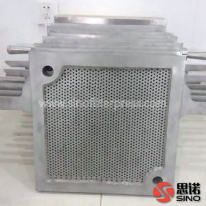 Manual Hydraulic Stainless Steel S. S. 304 Plate Frame Filter Press pictures & photos
