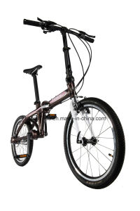 Precision Shaft Drive No Chain 20′′ Folding Bike pictures & photos