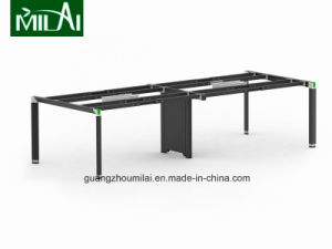 Popular Straight Design Office Conference Meeting Table with Adustable Steel Leg pictures & photos