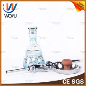Zinc Alloy Hand-Cut Water Pipes Water Pipe Hookah Glass Water Pipes of Smoking a Pipe pictures & photos