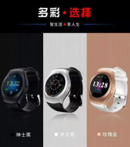 Latest Product W100 Smart Watch Phone 1.3 Inches Multifunctional Watch Phone pictures & photos