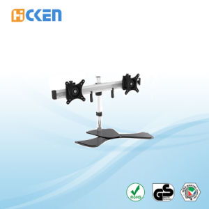 Desk Clamp Mount Triple Adjustable LCD Monitor Mount HK-MP220SL pictures & photos