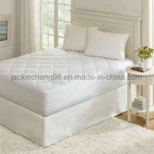 Micro Peach Multi-Needle Quilting Water Proof Mattress Pad pictures & photos