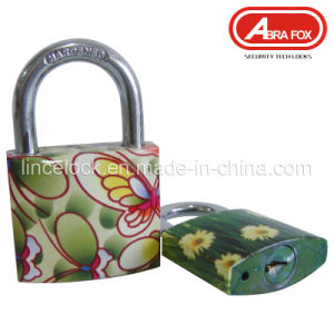 Padlock Steel, Padlock Iron Body Colour Design Padlock (804) pictures & photos