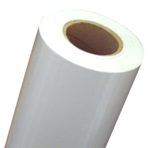 High Grade Europe-White Bubble Free Grey Adhesive Vinyl (DPI3002RG -YW)