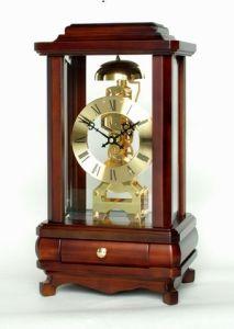 Skeleton Clock Solid Wood (0302X)